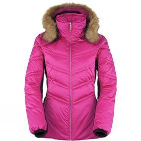 Women's Chic Faux Fur Down Jacket
