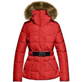 Women's Jules Faux Fur Belted Snow Jacket