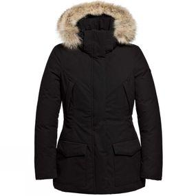 Womens Jetta Faux Fur Parka