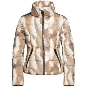 Womens Usagi Printed Down Jacket