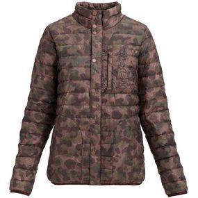 Womens Evergreen Down Collar Jacket
