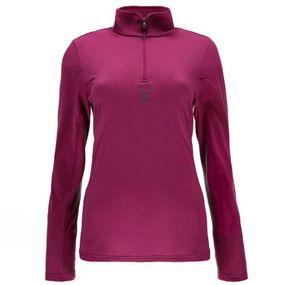 Women's Shimmer Bug Velour Fleece T-Neck