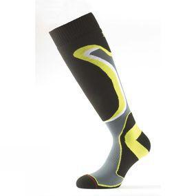 Image of 1000 Mile Ski & Snowboarding Sock Yellow/Black