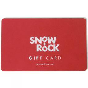 Snow+Rock Gift Card