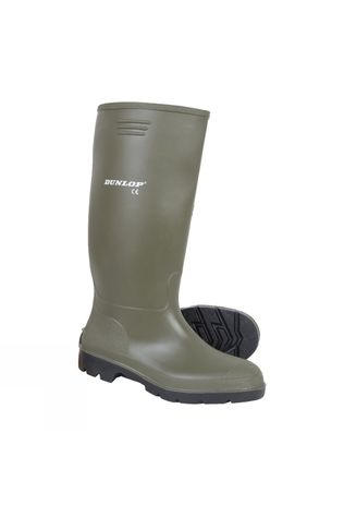 Dunlop Men's Green Wellington Boot Green