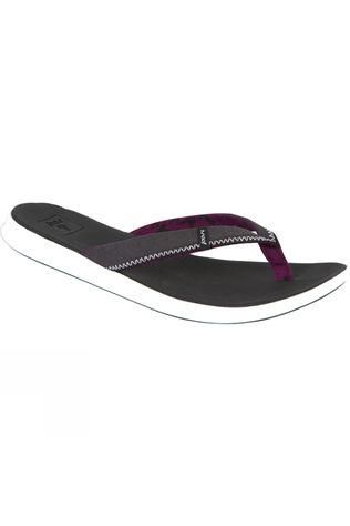 Reef Womens Rover Flip Flop Black/White