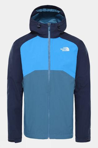 The North Face Men's Stratos Jacket Mallard Blue/Urban Navy/Clear Lake Blue