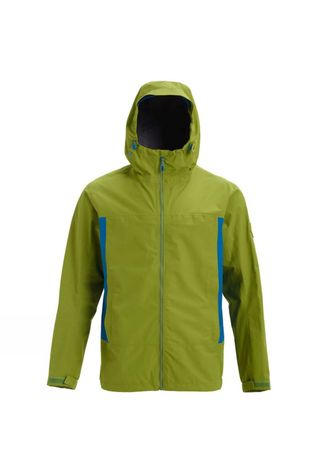 Burton Mens Packrite Jacket Woodbine/Blue Sulphur