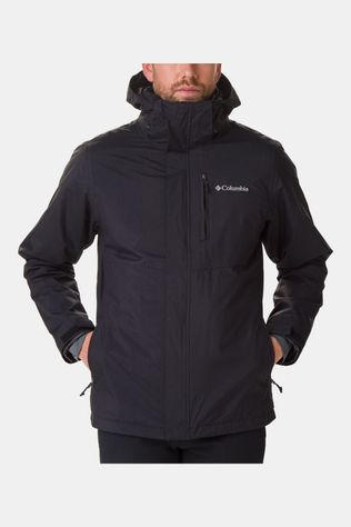 Columbia Mens Element Blocker II Interchange Jacket Black