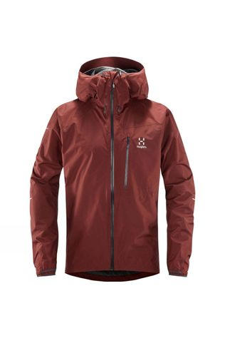 Haglofs Mens L.I.M Jacket Maroon Red