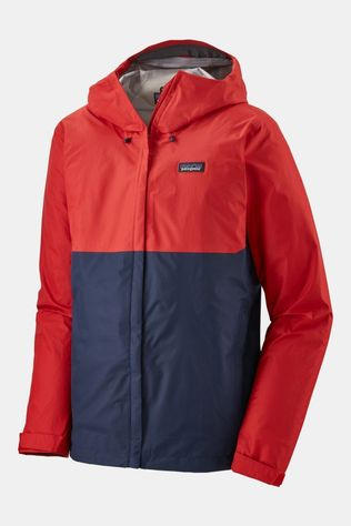 Patagonia Mens Torrentshell 3L Jacket Fire