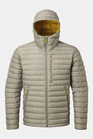 Rab Mens Microlight Alpine Jacket Gargoyle / Dark Sulphur