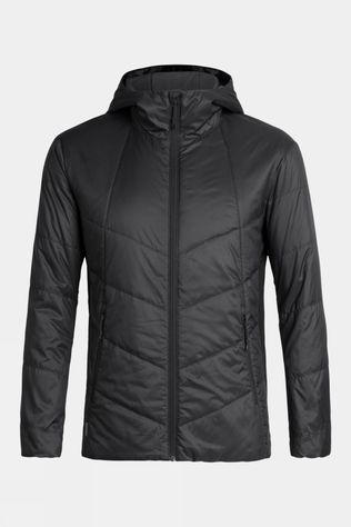 Icebreaker Mens Helix Hooded Jacket Black
