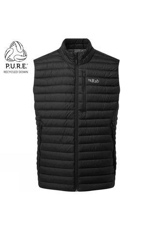 Rab Mens Microlight ECO Vest Black