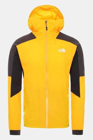 The North Face Mens Impendor Light WindWall™ Jacket Flame Orange/TNF Black