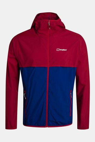 Berghaus Mens Corbeck Windproof Jacket Haute Red/Sodalite Blue