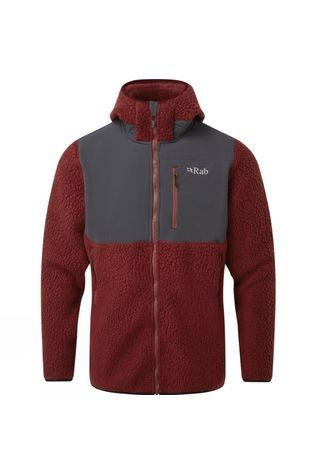 Rab Mens Outpost Jacket Oxblood Red