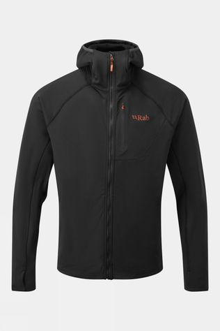 Rab Mens Superflux Hoody Black/Beluga