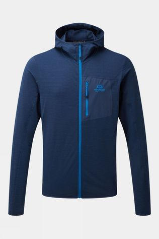Mountain Equipment Mens Lumiko Hooded Jacket Medieval Blue