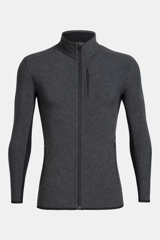 Mens Descender LS Zip Top