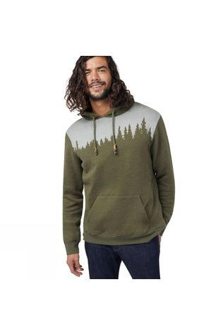 Tentree Juniper Classic Hoodie Olive Night Green Heather
