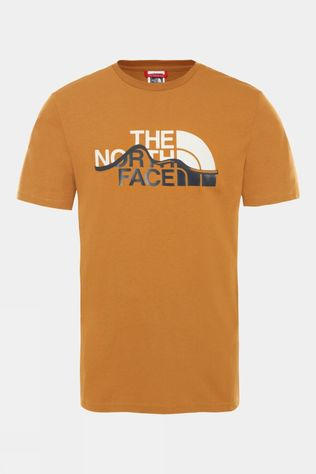 The North Face Men's Short Sleeve Mountain Line Tee Timber Tan