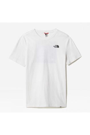 The North Face Mens Redbox Celebration T-Shirt TNF White/Aviator Navy