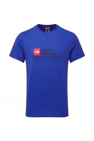 The North Face Mens GPS Short Sleeve Tee - London TNF Blue
