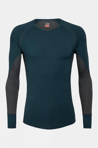 Icebreaker Mens 260 Zone Long Sleeve Crewe Top Nightfall