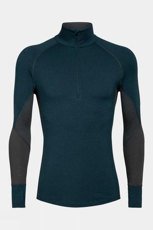 Icebreaker Mens 260 Zone Long Sleeve Half Zip Top Nightfall
