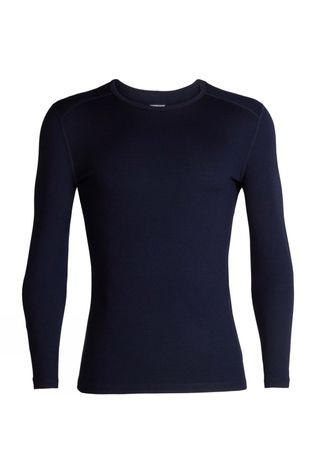 Icebreaker Mens 260 Tech Long Sleeve Crew Top Midnight Navy