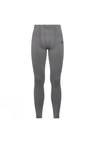 Odlo Mens Performance Evolution Warm Base Layer Pants Odlo Steel Grey - Odlo Graphite Grey