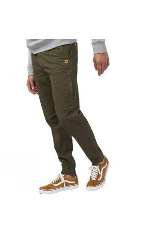 Tentree Alder Pant Olive Night Green