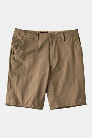 Patagonia Mens Stretch Wavefarer Walk Short Ash Tan