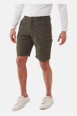 Craghoppers Mens NosiLife Cargo II Shorts Woodland Green