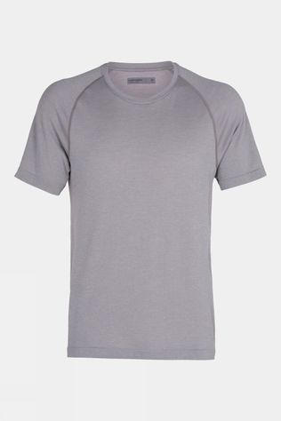 Icebreaker Mens Motion Seamless Short Sleeve Crewe Slate Hthr