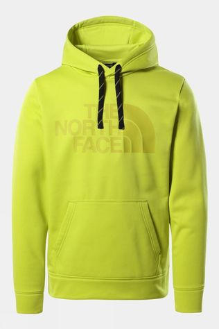 The North Face Mens Surgent Halfdome Pro Hoodie Fiery Red Heather