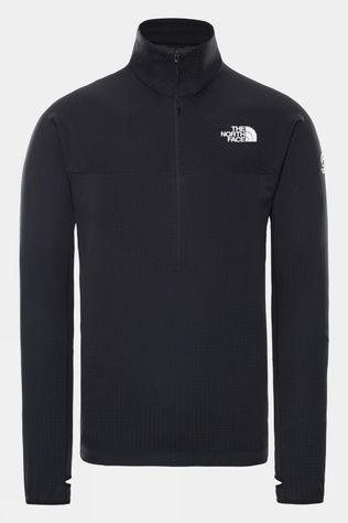 The North Face Mens Mens Summit 1/2 Zip Dot Fleece  TNF Black