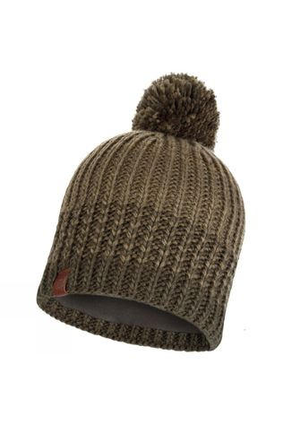 Buff Mens Borae Knitted Hat Khaki