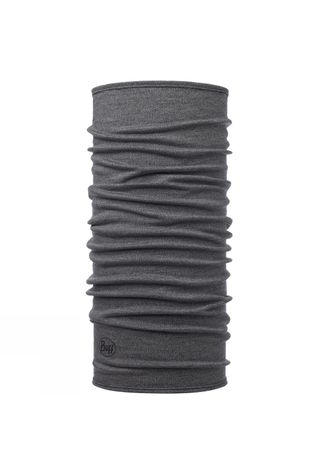 Buff Midweight Merino Wool Solid Buff Light Grey Melange