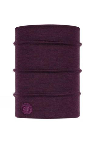 Buff Heavyweight Merino Wool Buff Purplish Multi Stripes