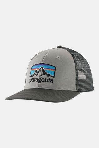 Patagonia Patago Fitz Roy Horizons Trucker Hat Drifter Grey