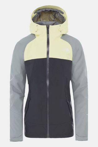 The North Face Women's Stratos Jacket Asphaly Grey/Mid Grey/Tender Yellow