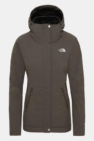 The North Face Womens Inlux Insulated Jacket Taupe Green