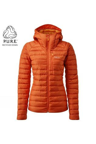 Rab Womens Microlight Alpine ECO Jacket Firecracker