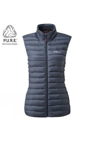 Rab Womens Microlight ECO Vest  Steel
