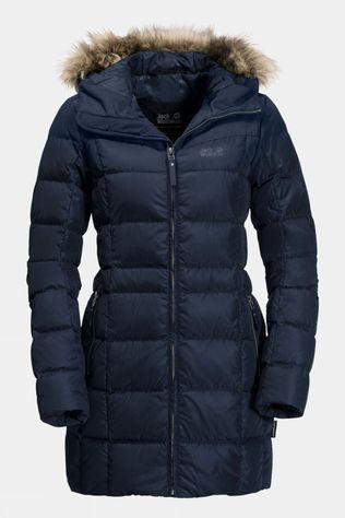 Jack Wolfskin Womens BaffIn Island Jacket Midnight Blue