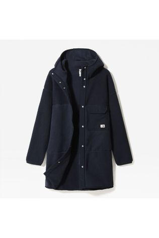 The North Face Womens Cragmont Fleece Coat Aviator Navy