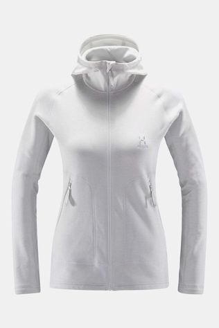 Haglofs Womens Heron Hooded Jacket Stone Grey