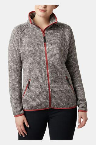 Columbia Womens Chillin Fleece Non Hooded City Grey